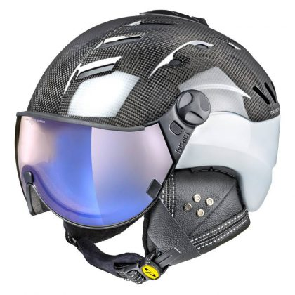 Carbon All in one ski helmet