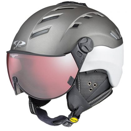 womens ski helmet with visor