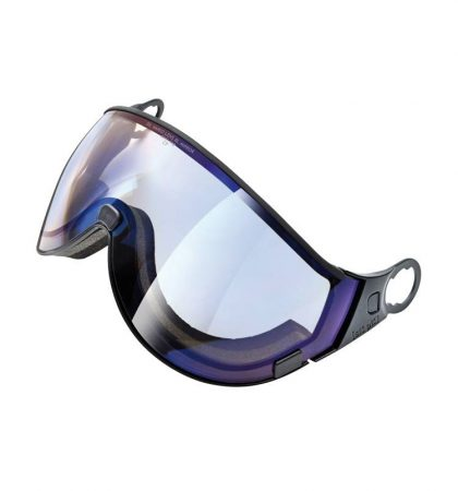 blue mirror visor for visor ski helmets