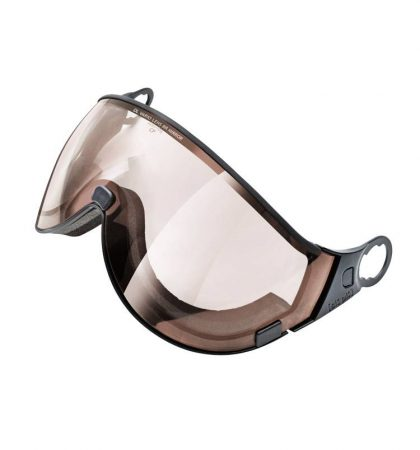 Double lens Brown Mirror Visor ski helmet
