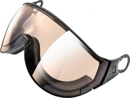 Double lens visor vario polarized WH brown mirror