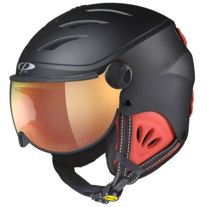 junior boys visor ski helmet
