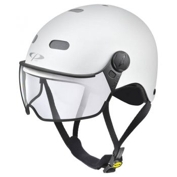 city bike helmet white