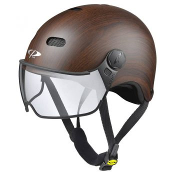 commuter Bike Helmet Wood Grain